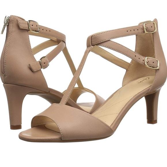 retorta bestia insondable  Clarks Shoes   Nib Clarks Laureti Pearl Ankle Strap Heeled Sandal   Poshmark